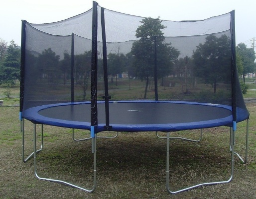 trampolines in the highlands