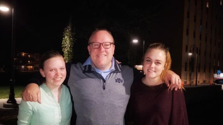 Julienne, Jason, and Maggie Bringhurst